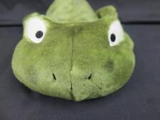 Amscan Laying Down Big Eyes Frog Two-Tone Green Wacky Soft Plush Stuffed Animal