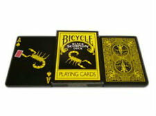 Black Scorpion Deck - Bicycle Playing Cards - Magic Tricks - New