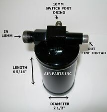 Motorhome RV GM A/C Receiver Drier 18mm and Fine Thread