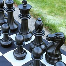 """16"""" King Giant Chess set BIG Fun year round indoor/outdoor lifetime skill!"""