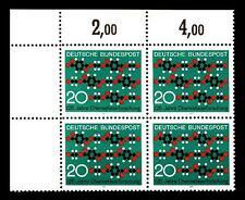 664** ECKRAND-VIERER o.l. (Chemiefaserforschung)