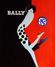 Bally Canvas Decorative Posters