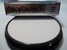 Mehron Light Grey Star Blend Cake Pancake Water Base Stage Makeup Professional