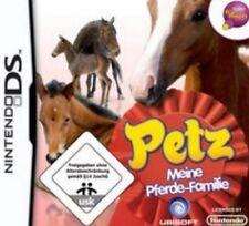 NINTENDO DS 3DS PETZ MEINE PFERDE FAMILIE DEUTSCH Top Zustand