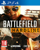BATTLEFIELD HARDLINE - PLAYSTATION 4 - PS4 - NEW SEALED - SAME DAY DISPATCH
