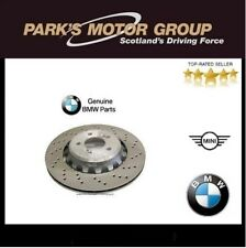BMW Genuine Front Vented Brake Discs Set M2/M3/M4 Sided 34112284809 34112284810