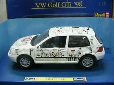 WOW EXTREMELY RARE Volkswagen Golf 4 IV GTi 1998 White Bonn Direct 1:18 Revell