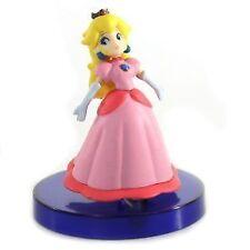 Super Mario Galaxy Tomy Gashopan Mini 2 Inch PVC Figure Princess Peach