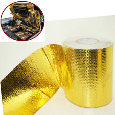 10Meter roll Foil Heat Insulating Tape Pipe Hose Wrap Reflective Shield Adhesive