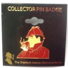 Sherlock Holmes red enamel Lapel Pin Badge