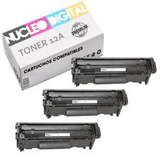 Toner compatible HP 12A LaserJet Q2612A para impresoras HP laserjet