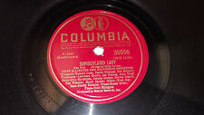 "DUKE ELLINGTON Stormy Weather / Sophisticated Lady 10"" 78rpm Columbia 35556"