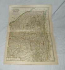 Northern Eastern New York Map THE CENTURY DICTIONARY AND CYCLOPEDIA 1906 18874