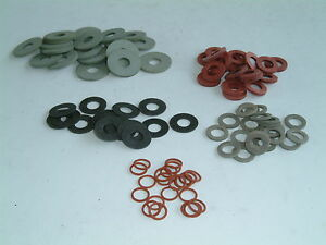 M6 Fibre Washers- Choose from 16 sizes, various quantities available