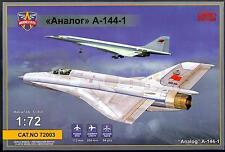 Modelsvit Models 1/72 MIKOYAN A-144-1 Soviet MiG-21 Fighter Project