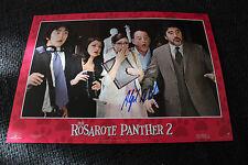 "ALFRED MOLINA signed Autogramm auf ""DER ROSAROTE PANTHER 2"" Aushangfoto InPerson"