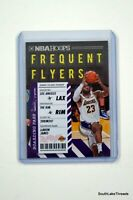 2020-21 NBA Hoops Frequent Flyers Holo LeBron James #3