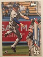 2020 Topps Series 1 Gavin Lux #292 RC Rookie SP Photo Variation LA Dodgers🔥🔥