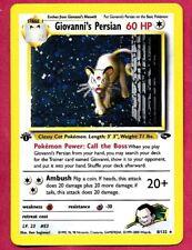 Pokemon 1st Edition Giovanni's Persian 8/132 Holo Gym Challenge Set Mint Card