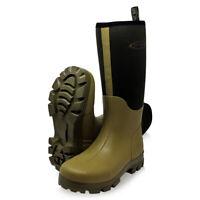 Dirt Boot® Neoprene lined Gamekeeper Wellington Muck Field Boots® Khaki