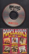 POPCLASSICS FROM THE 60'S,70'S& 80'S CD BR MUSIC Demis Roussos Mud Sandy Coast