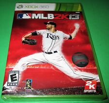 MLB 2K13 Microsoft Xbox 360 *Factory Sealed! *Free Shipping!