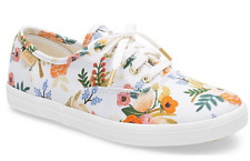 ee0aa863c00 Keds Rifle Paper Co. Champion Lively White Sz. 4.5 Girls
