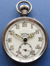 MINT dial WW2 era Military dial SERVICES ARMY German made pkt watch - 1940's