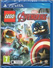 LEGO: MARVEL AVENGERS (Ironman Hulk Thor) GAME PS Vita Sony ~ NEW / SEALED