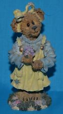 Boyds Bears & Friends Collectible Bear Figure  Abby T Bearymuch Yellow dress