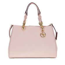 Michael Kors Cynthia Saffiano Leather Satchel - Soft Pink