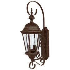 Capital Lighting Carriage House 2 Lamp Outdoor Wall Lantern, Tortoise - 9722TS
