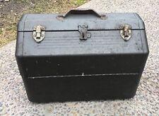 Vintage Simonsen Tool Box Metal Cantilever Machinist Mechanic Chest Large