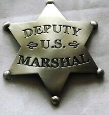 John Wayne True Grit- Deputy US Marshal Badge Authorized Replica - Made USA