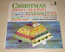 CHRISTMAS SING ALONG THE BRAVO SINGERS ALBUM INTERNATIONAL RECORDS K-X-3-A