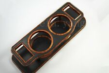 1Pcs New Large Microscler Wood Grain Car Instrument Desk Table Cup Drink Holders