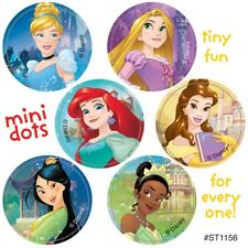 120 Disney Princess Mini Dot Stickers Party Favors Birthday Supplies