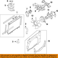Infiniti NISSAN OEM 11-13 QX56 Cooling System-Water Outlet 110601LA0A