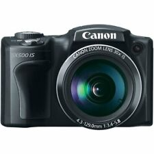 Canon PowerShot SX500 IS 16.0 MP 30x Wide-Angle Optical Image Stabilized Zoom