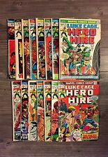 21 Issues of Marvel Luke Cage, Hero for Hire/Power Man: #1-8, 10-19, 22, 27 & 38