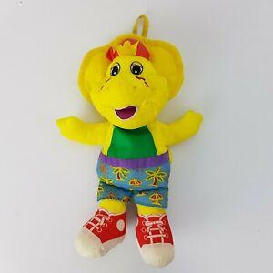 BJ Soft Plush Toy Barney Vintage 1996 Playskool Hasbro