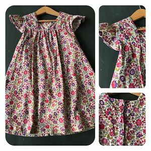 LES PETITS BORDELAIS 4 ans 🌸 Robe velours Liberty of London esprit Bonpoint