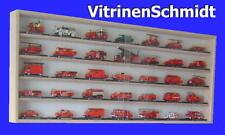 VitrinenSchmidt® 075 Vitrine Modell Auto - Feuerwehr Fahrzeuge