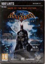 Batman: Arkham Asylum GOTY Game of theYear Edition FREE US SHIPPING New & Sealed
