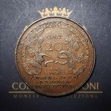 GETTONE DA 20 CENTESIMI - ESPOSIZIONE DI MILANO - JOHNSON - 1906 - BB/SPL
