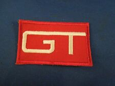 Vintage Grand Trunk GT Railroad Railway Train Logo Sew On Patch