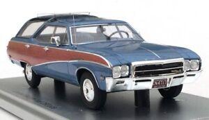 Kess Models 1969 Buick Sport Wagon  Blue