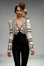 Sass & Bide TOMORROW THE GREAT leather look pants RARE rrp $1000+