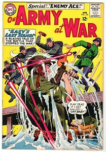 Our Army at War with Sgt. Rock #153, Second Appearance Enemy Ace, Fine Condition