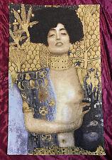 Tapisserie Italy Tapis Giuditta vendeur oloferne arazzo Tapisserie 75x47 cm